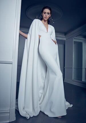 Romona Keveza Collection RK2000CAPE Wedding Dress