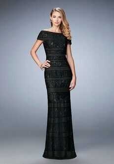 La Femme Evening 23012 Black Mother Of The Bride Dress