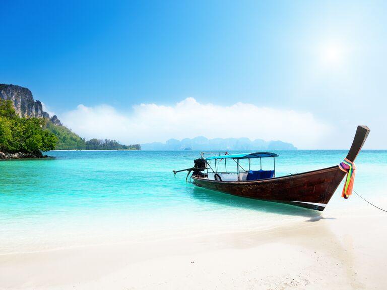 Far-Flung wedding destination: Thailand