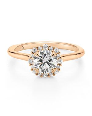 The Forevermark Engagement & Commitment Collection Classic Round Cut Engagement Ring