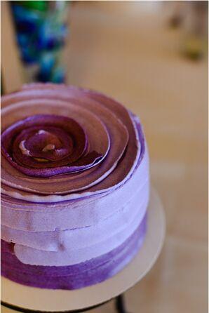 Bright Purple Cake