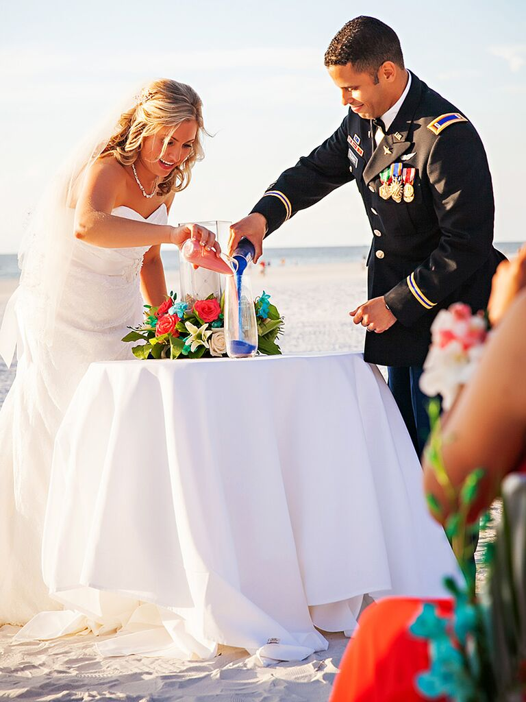 Sand Ceremony Wedding.Unity Sand Ceremony 15 Ways To Make It Your Own