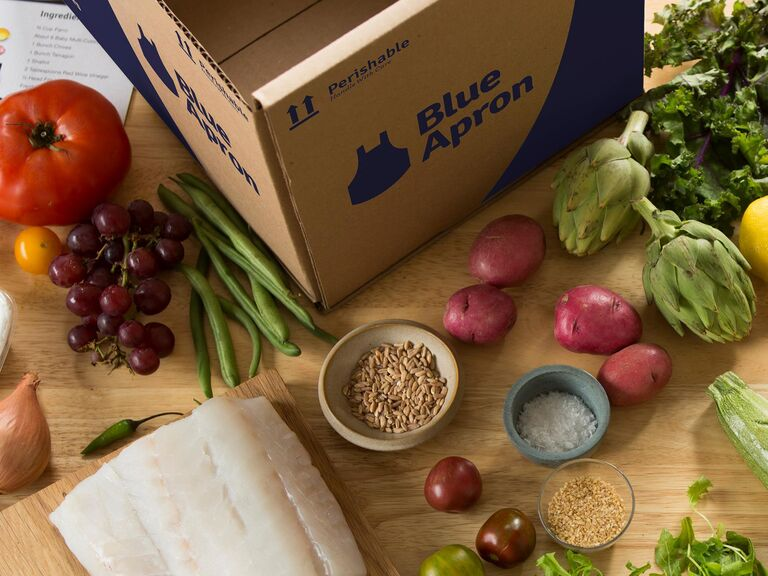 Blue Apron home cooking subscription service
