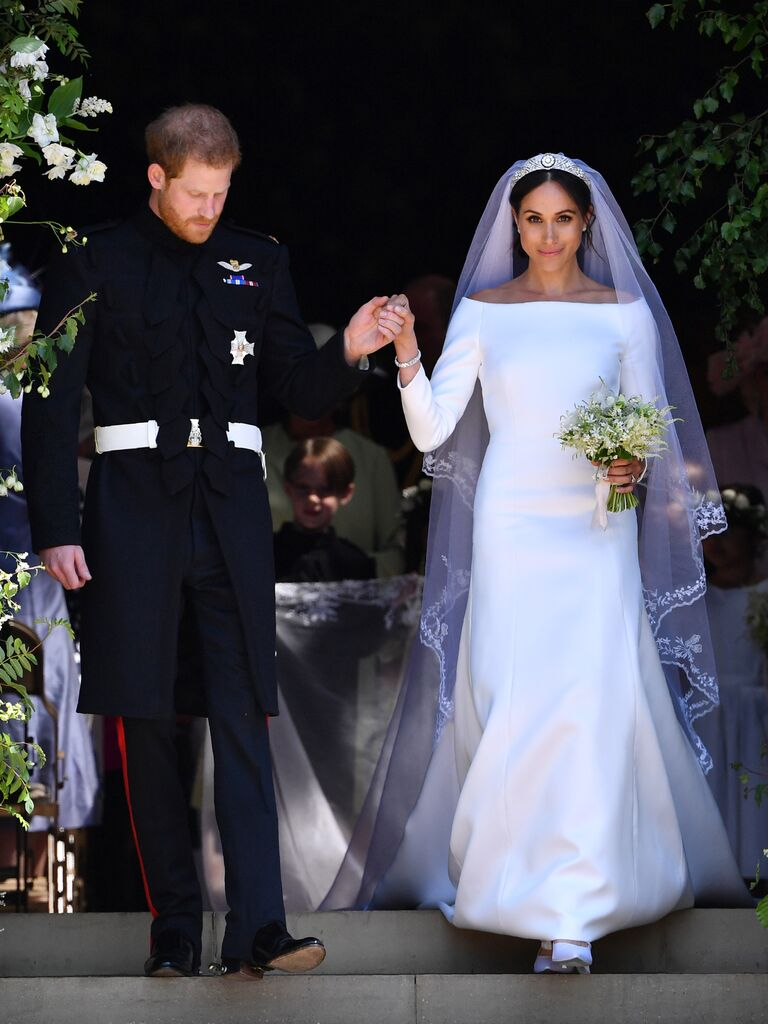 14+ Meghan Markle After Party Wedding Dress
