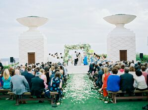Beachside Ceremony in Alys Beach, Florida
