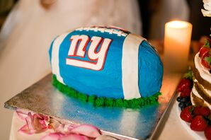 Giants Themed Groom's Cake
