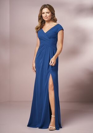 Jade Mother of the Bride by Jasmine J205001 Blue Mother Of The Bride Dress