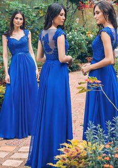 CocoMelody Bridesmaid Dresses PR3492 V-Neck Bridesmaid Dress