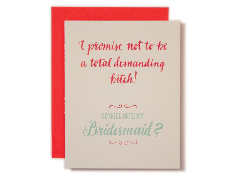 Best Will You Be My Bridesmaid Cards