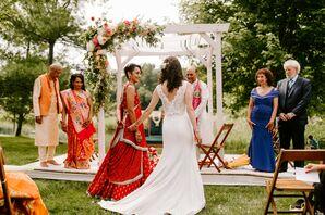 Wedding at the Misty Farm in Ann Arbor, Michigan