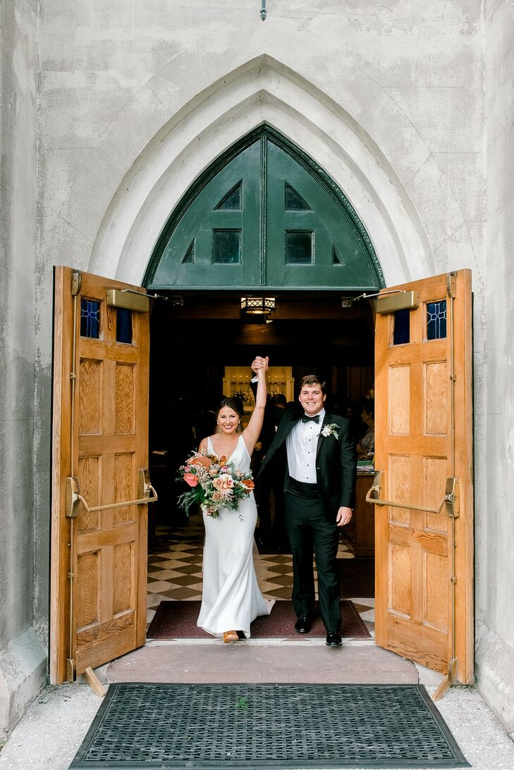 Traditional Exit at Stella Maris Roman Catholic Church on Sullivan's Island