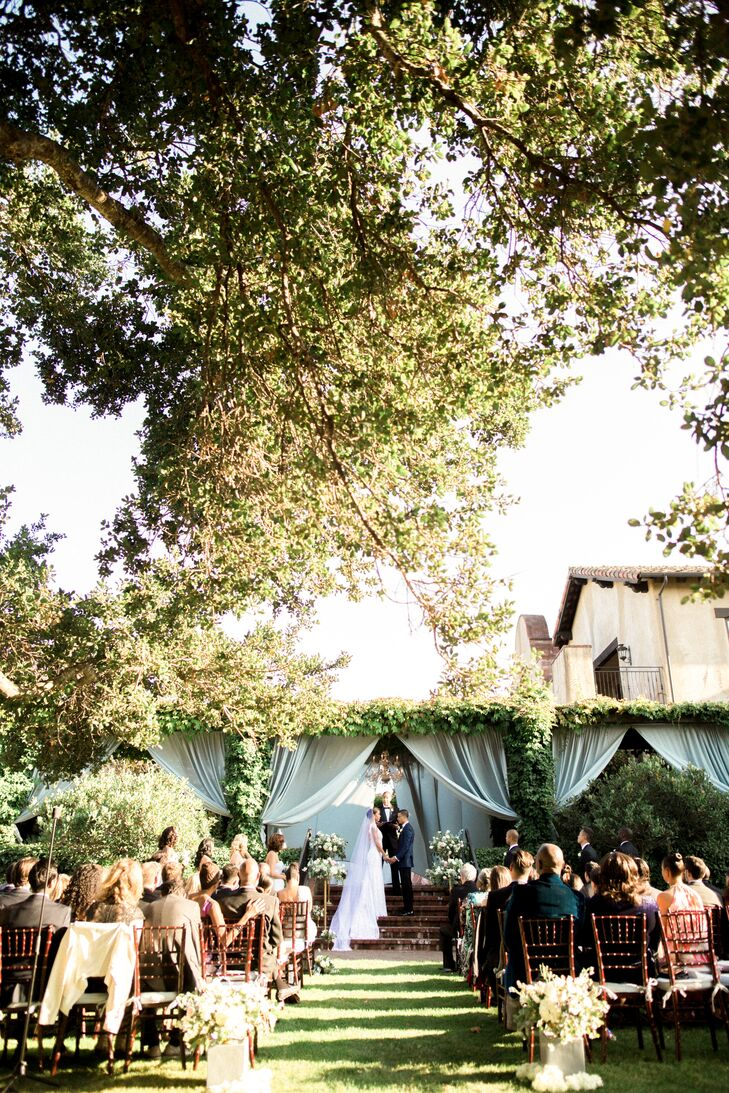 Outdoor Ceremony at the Sonoma Golf Club in California
