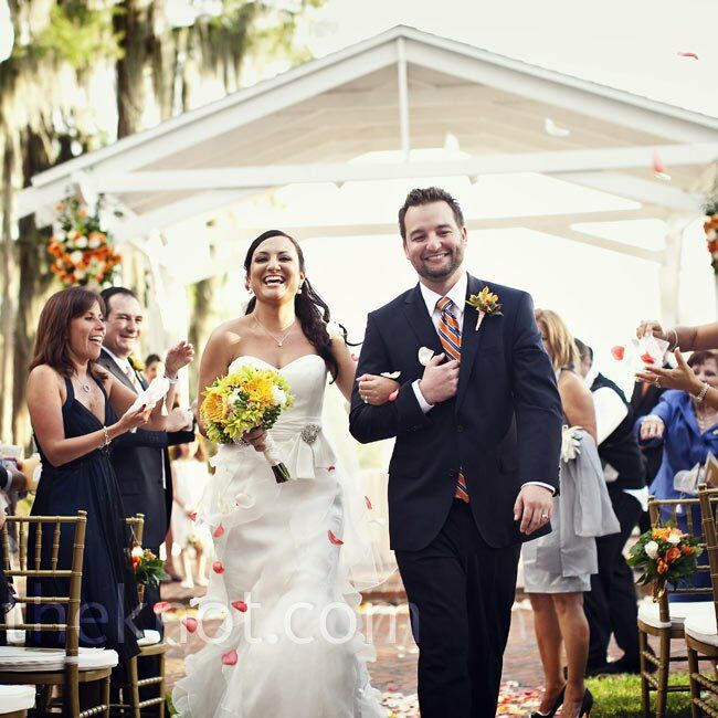 The Bride Anelena Ferrer, 29, a histology assistant The Groom Joel Wilcoxson, 30, a motion graphic designer The Date October 2  After falling in love