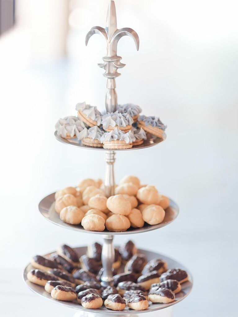 Wedding dessert tray