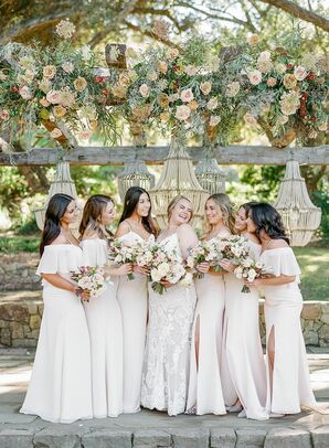 Bridal Party at Vista Valley Country Club in California