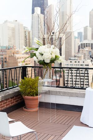 Modern Rooftop Altar Arrangement at The Ambassador