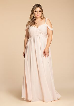Hayley Paige Occasions W801 Off the Shoulder Bridesmaid Dress