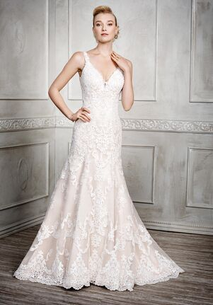 Kenneth Winston 1678 Sheath Wedding Dress
