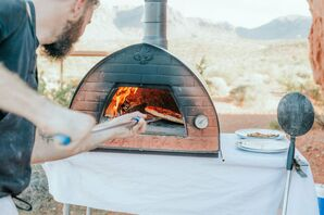Pizza Oven at Reception