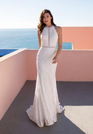 WHITE ONE ESSENTIALS CHICORY Mermaid Wedding Dress