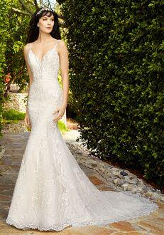 Val Stefani Garland Mermaid Wedding Dress