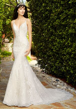Val Stefani Garland Mermaid Wedding Dress
