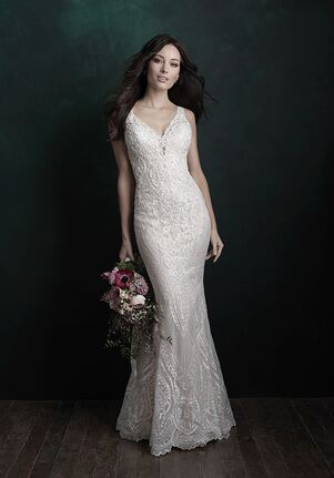Allure Couture C502 Sheath Wedding Dress