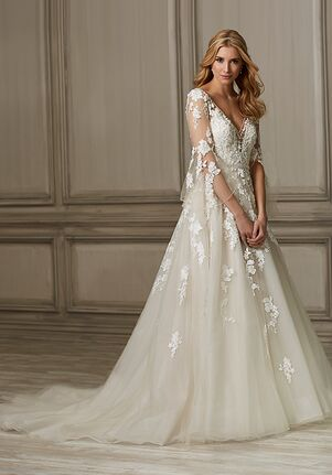 Adrianna Papell Platinum Brielle A-Line Wedding Dress
