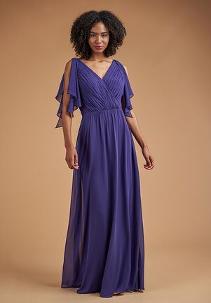 B2 Bridesmaids by Jasmine B223051 V-Neck Bridesmaid Dress