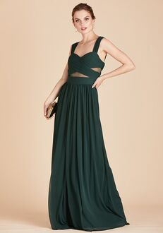 Birdy Grey Elsye Dress in Emerald Sweetheart Bridesmaid Dress