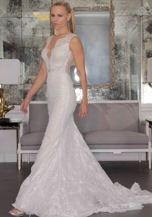 Romona Keveza Collection RK6456 Sheath Wedding Dress