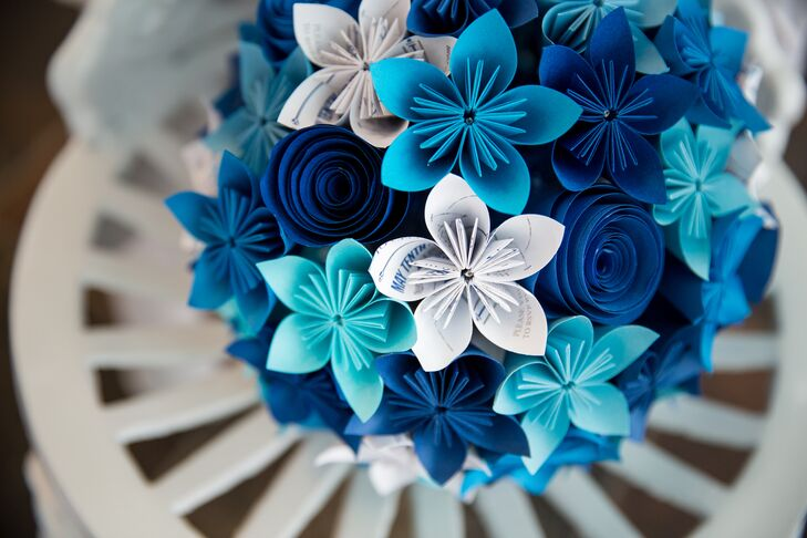 Origami flower - How to make paper flower bouquet, Origami flower ... | 486x729