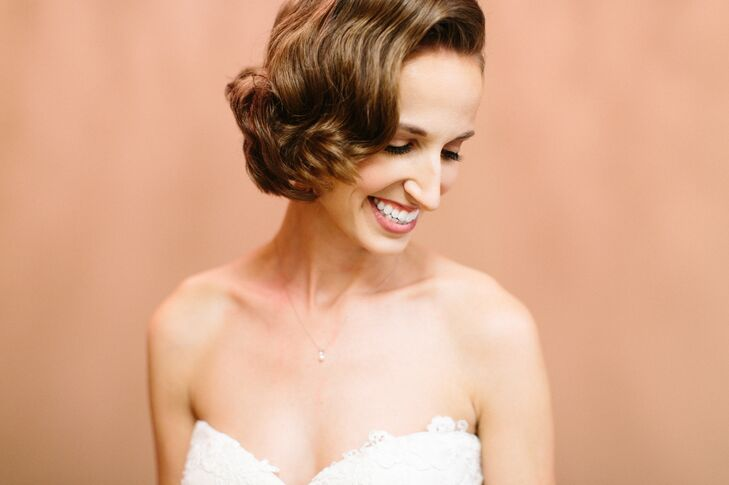 Old Hollywood Short Hairstyle