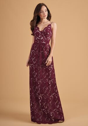 Belsoie Bridesmaids by Jasmine L204054 V-Neck Bridesmaid Dress