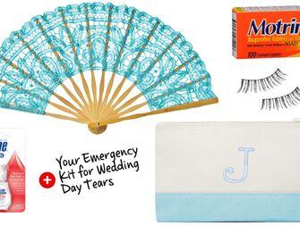 Wedding Day Tears Emergency Kit
