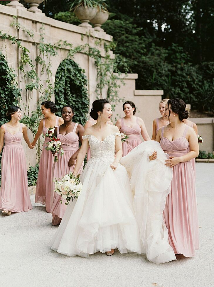 Bridal Party Portraits  at The Swan House in Atlanta, Georgia
