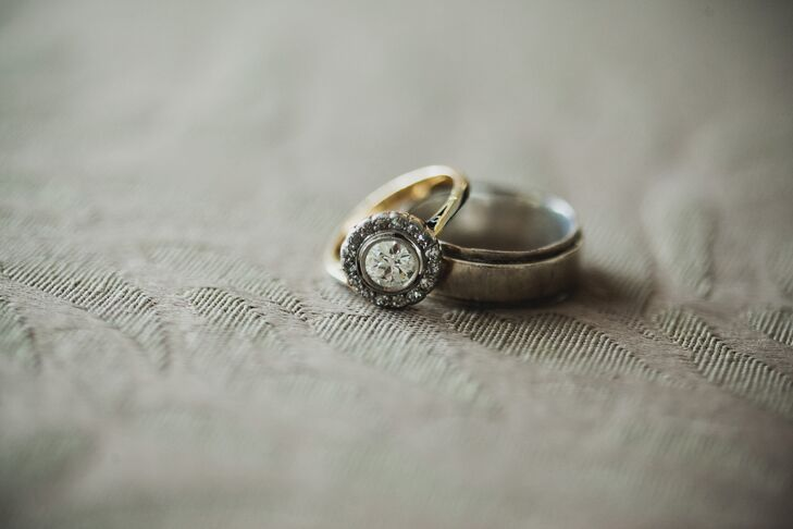 Traditional Engagement and Wedding Rings