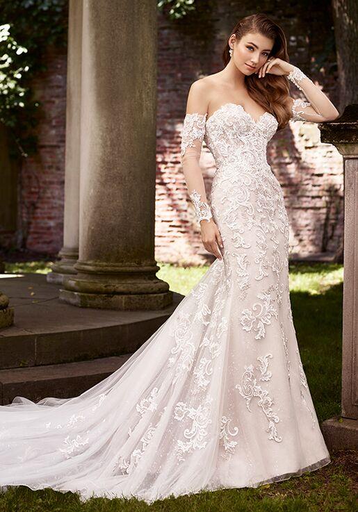a3d171ca144 Martin Thornburg a Mon Cheri Collection 119279 Annie Mermaid Wedding Dress