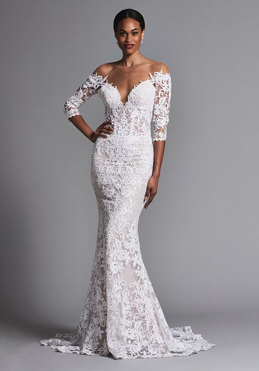 Pnina Tornai for Kleinfeld 4576 Sheath Wedding Dress