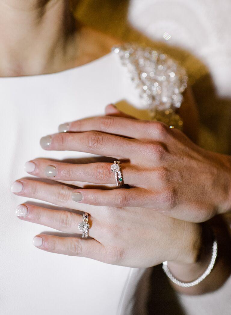 The Knot Dream Wedding 2017 wedding rings