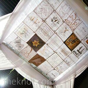 Traditional Huppah Decor