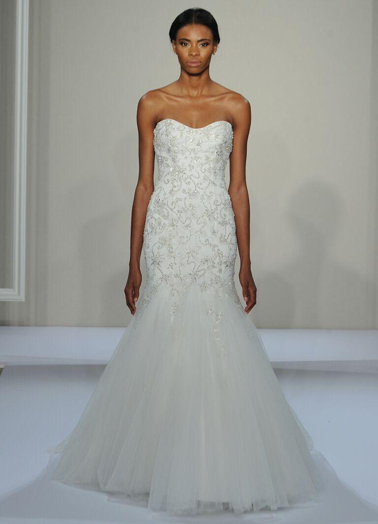 Dennis Basso Fall 2016 Collection: Bridal Fashion Week Photos