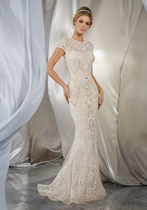 Morilee by Madeline Gardner/Voyage Musidora | Style 6869 Sheath Wedding Dress