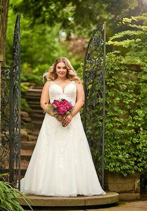 Essense of Australia D2715+ A-Line Wedding Dress