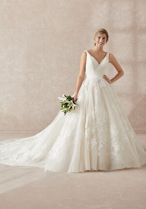 Adrianna Papell Platinum 31151 Ball Gown Wedding Dress