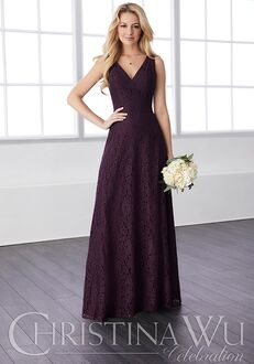 Christina Wu 22817 V-Neck Bridesmaid Dress