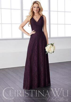 Christina Wu 22817 V-Neck Bridesmaid Dress