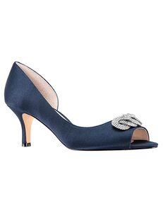 Nina Bridal Madolyn_New Navy Satin Black, Red, Gray Shoe