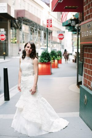 Lace Rivini Fit and Flare Wedding Dress