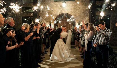 Love Wedding Sparklers The Knot